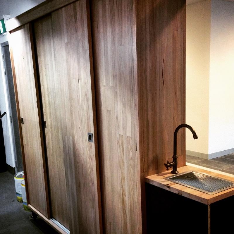 Cupboard doors by Timbertek