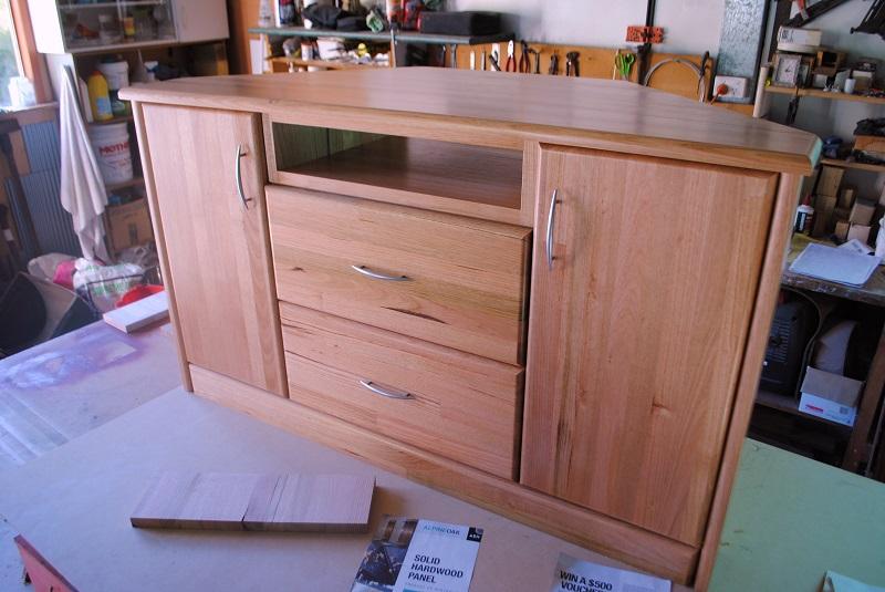 Corner cabinet by David Gay