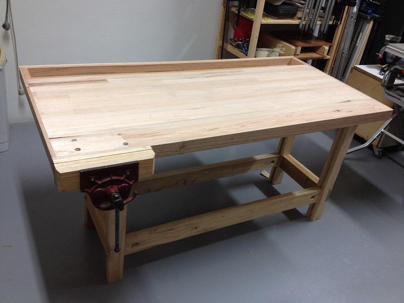 Work bench by Jefferey Stanton